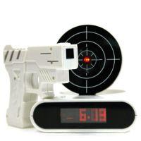 Gun Shooting Game Alarm Clock