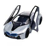 Sliver BMW i8 Concept Sport Car Alloy Model 1:32 Scale Diecast Car Toys Gift
