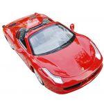 Red 1:32 Scale Ferrari F458 Diecast Cars Models Convertible Super Sports Car New