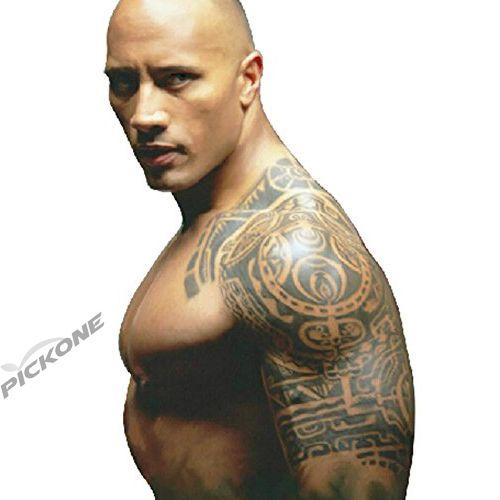 Removable Body Makeup Left Shoulder Temporary Tattoo Stickers Tem Men
