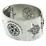 Black Butler Kuroshitsuji Punk bracelet Japan Anime Cosplay Gift Silver