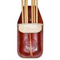 Archery Sport Accessorie Arrow Quiver Waist Bag Holder Bow Belt Leather Handmade