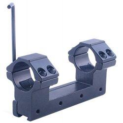 25mm Rifle scope Rail mount 25/ 11 - 15mm 100mm H 1' ring 11mm rail mount 100mm