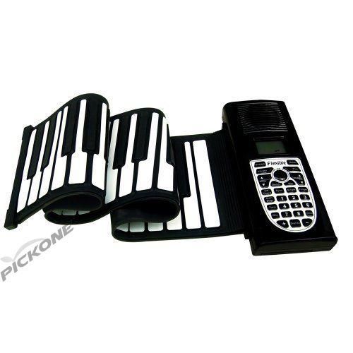 49 Keys MIDI Flexible Keyboard Piano/Portable Roll Piano/Hand Roll Piano/Roll Up Flexible Piano