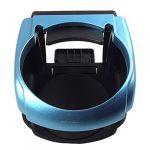 Vehicle Car Blue Black Plastic Drink Cup Bottle Stand Holder