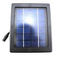 Black Waterproof Outdoor Solar Light Power Warm White 30 LED Garden Landscape Lamp