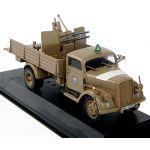 IXO 1/43 Opel Blltz3,6-36S(Kfz.305)+Flakvierling 38 DAK Truck APCs Diecast Car