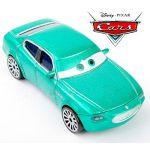 Mattel Disney Pixar Cars 1/55 Diecast Car Toys Vehicle Green Maserati Racers
