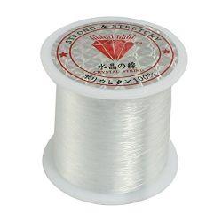 0.2mm Diameter Clear Nylon Fish Fishing Line Spool Beading String