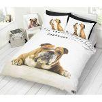 Barry Bulldog Single Duvet Cover & Pillowcase Set
