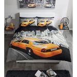 Modern New York Yellow Cab Double Duvet Cover Set