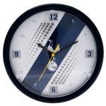New Official Football Club Stripe Wall Clock (Tottenham Hotspur F.C. Stripe Wall Clock)
