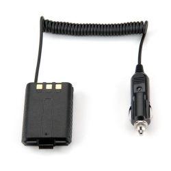 Car Battery Eliminator for DC 12V Black Portable Radio Baofeng UV-5R