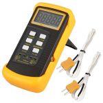 Digital Thermometer 2 Way K-Type Sensor Temperature Probe
