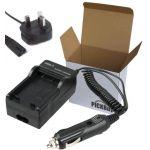 Charger for CANON BP14 BP15 BP28 D08S / HITACHI DZ-BP14 DZ-BP14R DZ-BP16 DZ-BP28 / LEICA BP-DC1 BP-DC3 battery compatible with Hitachi DZ-MV100, DZ-MV100A, DZ-MV100E, DZ-MV200, DZ-MV200A, DZ-MV200E, DZ-MV208E, DZ-MV230,DZ-MV230A, DZ-MV230E, DZ-MV238E, DZ-
