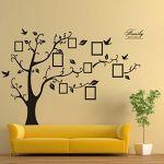180*250cm 3D DIY Photo Tree Wall Stickers