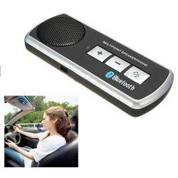 BLUETOOTH HANDSFREE CAR KIT SPEAKER SUN VISOR CLIP FOR MOBILE iPhone 4 4S Samsung Galaxy S3 i9300 v2.1