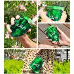 BestOfferBuy Mini Handheld Battery Outdoor Mist Spray Water Cooling Fan Green