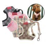 L Size Color Comfort Soft Mesh Dog Puppy Leash Lead Harness Vest Small Cat Pet