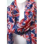 UK Scarf UNION JACK Flag Prints Womens Ladies Souvenir Scarves