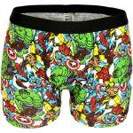 Men's Marvel Comics Avengers Superheroes Boxer Shorts (Medium)