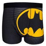 Batman DC Comics Official Gift 1 Pair Mens Boxer Shorts Black Small