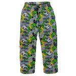 Marvel Comics The Incredible Hulk Mens Lounge Pants Pyjama Bottoms Grey Small