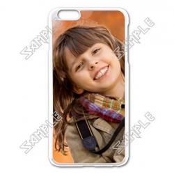 Apple iphone 6 plus enamel white case