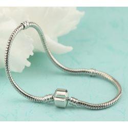 20cm silver tone charm bracelet