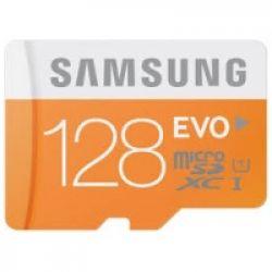 Samsung microsdxc 128gb evo memory card